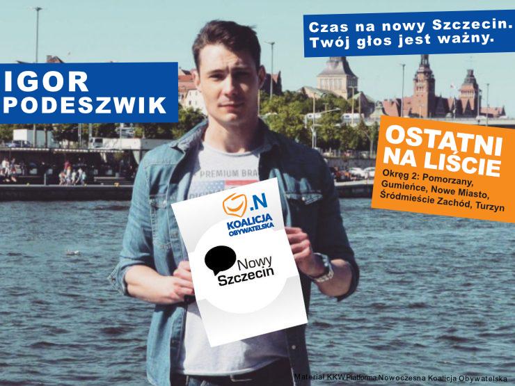 Igor Podeszwik – Nowy Szczecin